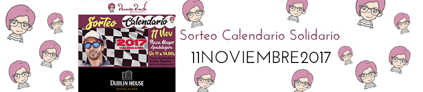 Sorteo Calendario Solidario «A Todo Gas» de Penny Brush